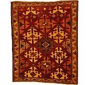 Link to 4' 9 x 5' 9 Kurdish Berber Persian Rug