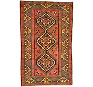 Link to 4' 5 x 7' 5 Kurdish Berber Persian Rug