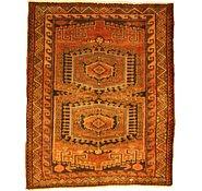 Link to 5' 3 x 6' 4 Kurdish Berber Persian Rug