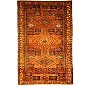 Link to 5' 5 x 8' Kurdish Berber Persian Rug