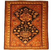 Link to 5' 3 x 5' 10 Kurdish Berber Persian Square Rug