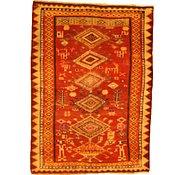 Link to 4' 1 x 5' 8 Kurdish Berber Persian Rug