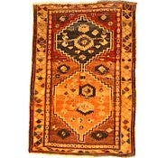 Link to 4' 1 x 5' 11 Kurdish Berber Persian Rug