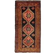 Link to 4' 6 x 9' 2 Kurdish Berber Persian Runner Rug