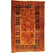 Link to 3' 11 x 5' 11 Kurdish Berber Persian Rug