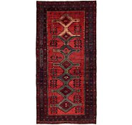 Link to 4' 8 x 9' 6 Hamedan Persian Runner Rug