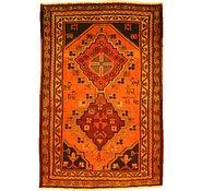 Link to 4' 4 x 6' 6 Kurdish Berber Persian Rug