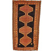 Link to 4' 3 x 7' 3 Kurdish Berber Persian Runner Rug