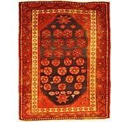 Link to 4' 6 x 5' 10 Kurdish Berber Persian Rug