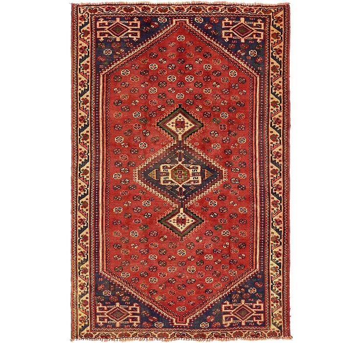 5' x 7' 8 Shiraz Persian Rug
