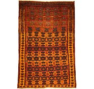 Link to 5' 7 x 8' 6 Kurdish Berber Persian Rug