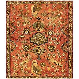 5' 3 x 6' 3 Zanjan Persian Square ...