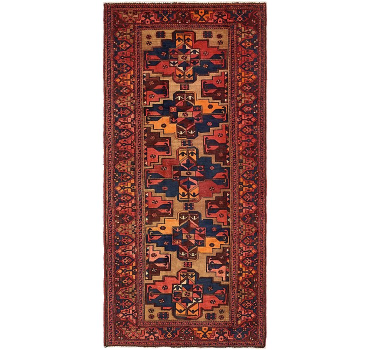 130cm x 292cm Zanjan Persian Runner Rug