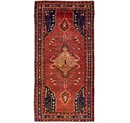 Link to 4' 9 x 9' 10 Hamedan Persian Runner Rug