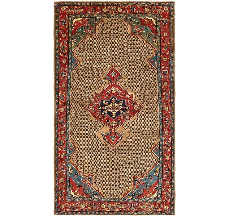 5' 3 x 9' 8 Koliaei Persian Rug