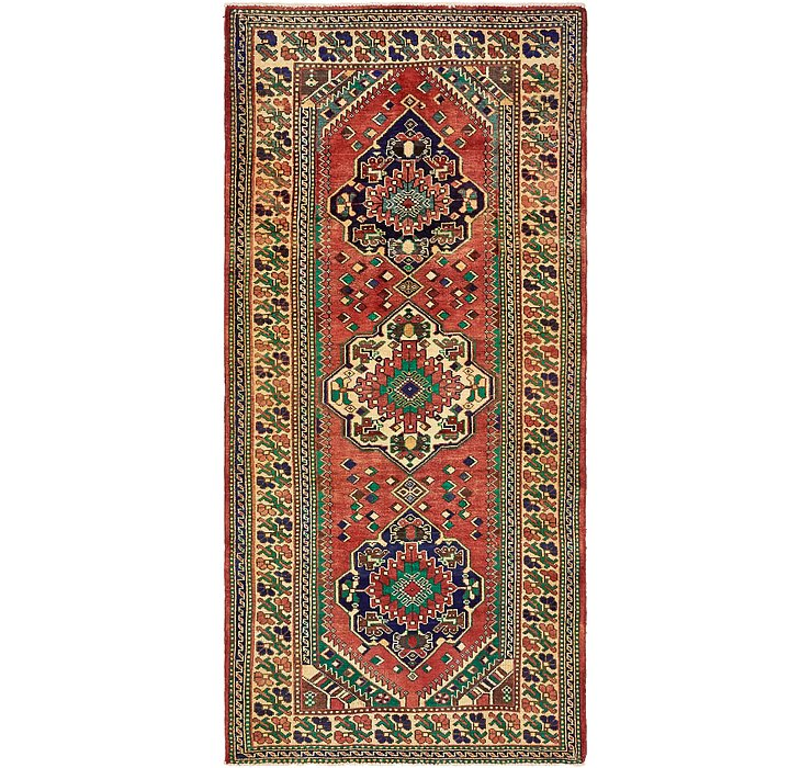 4' 8 x 9' 10 Shiraz Persian Runner Rug