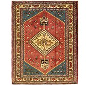 Link to 5' 4 x 6' 6 Shiraz Persian Rug
