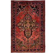 Link to 5' x 7' 7 Hamedan Persian Rug