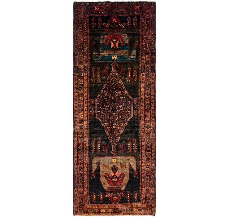 5' x 13' Sirjan Persian Runner Rug