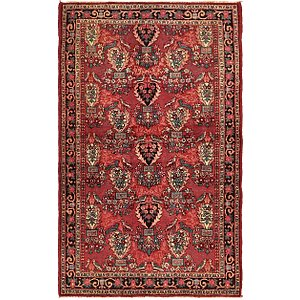 4' 3 x 6' 9 Gholtogh Persian Rug