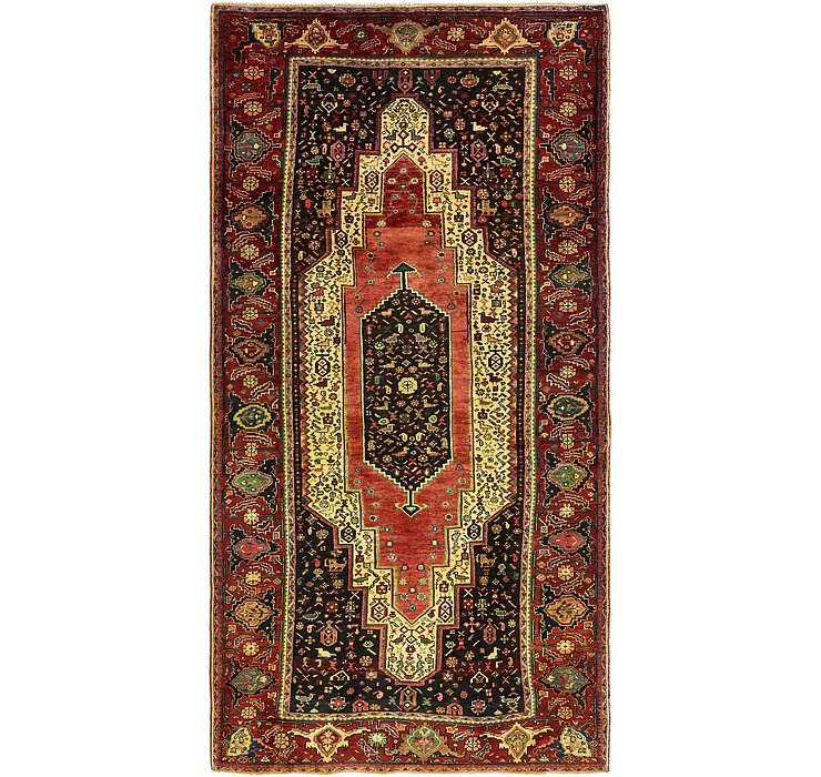 5' x 10' 2 Sirjan Persian Rug