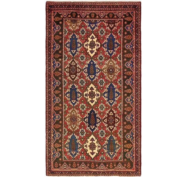 5' 3 x 9' 10 Shiraz Persian Rug