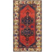 Link to 3' 6 x 6' 9 Hamedan Persian Rug