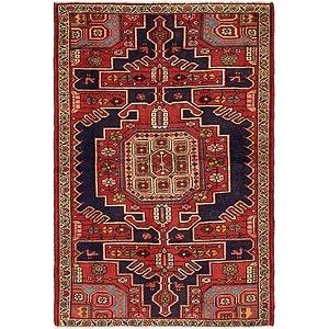 4' 5 x 6' 6 Saveh Persian Rug