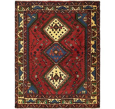 155x196 Shiraz Rug