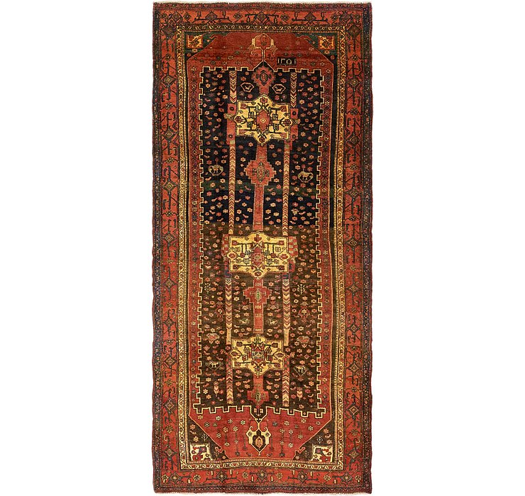 5' x 11' 2 Sanandaj Persian Runner...