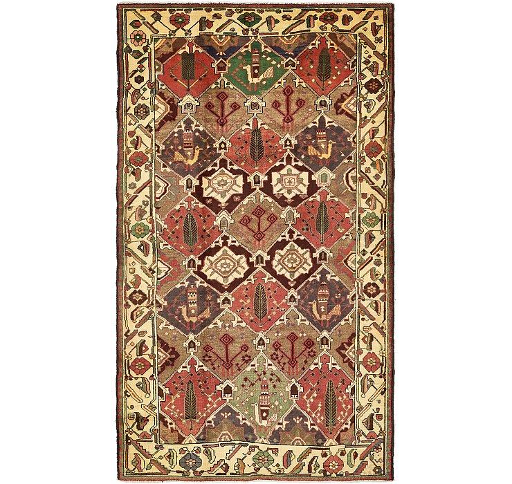 5' 4 x 10' Bakhtiar Persian Rug