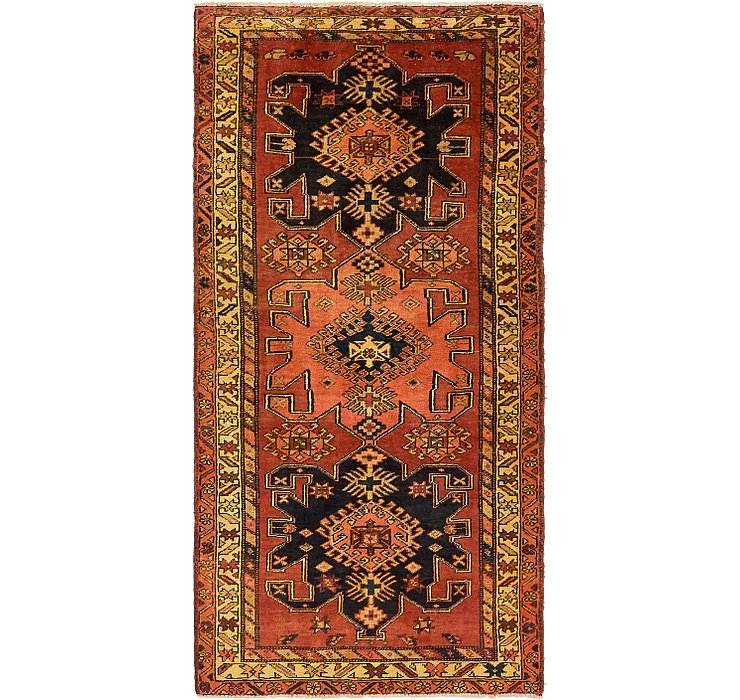 117cm x 235cm Gholtogh Persian Runner...