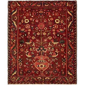 5' 6 x 6' 8 Bakhtiar Persian Squar...