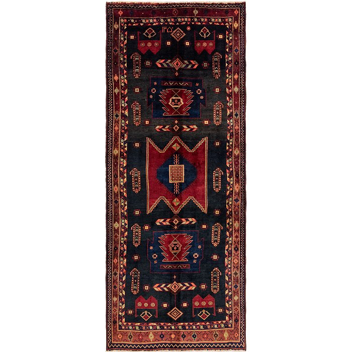 5' 2 x 13' 5 Sirjan Persian Runner Rug
