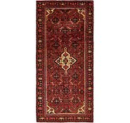 Link to 4' 6 x 9' 9 Hossainabad Persian Runner Rug