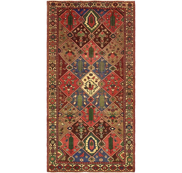 5' 3 x 10' Bakhtiar Persian Rug