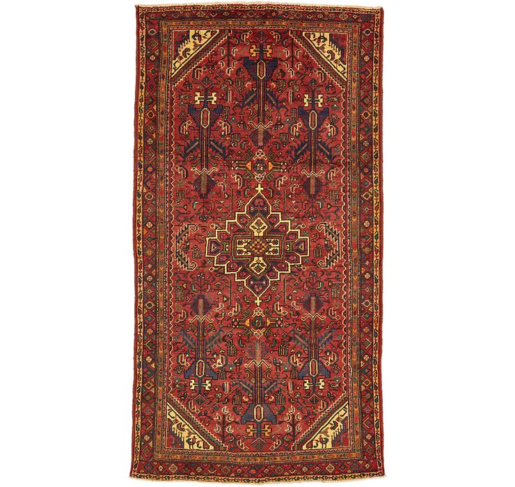 5' 2 x 9' 9 Zanjan Persian Runner Rug