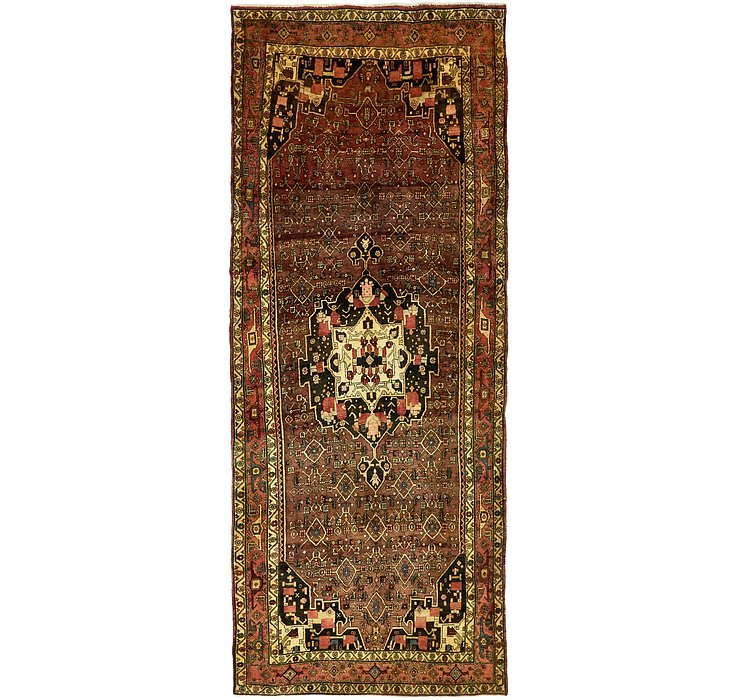 4' 10 x 11' 7 Sanandaj Persian Runner...