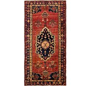 Link to 4' 9 x 9' 9 Khamseh Persian Runner Rug