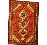 Link to 4' 3 x 6' Hamedan Persian Rug