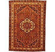 Link to 4' 10 x 6' 8 Hossainabad Persian Rug