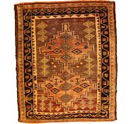 Link to 4' 8 x 5' 8 Shiraz-Lori Persian Square Rug