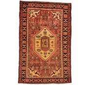 Link to 4' 5 x 6' 11 Hossainabad Persian Rug