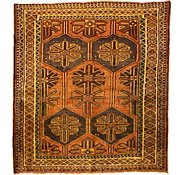 Link to 5' 9 x 6' 2 Shiraz Persian Square Rug