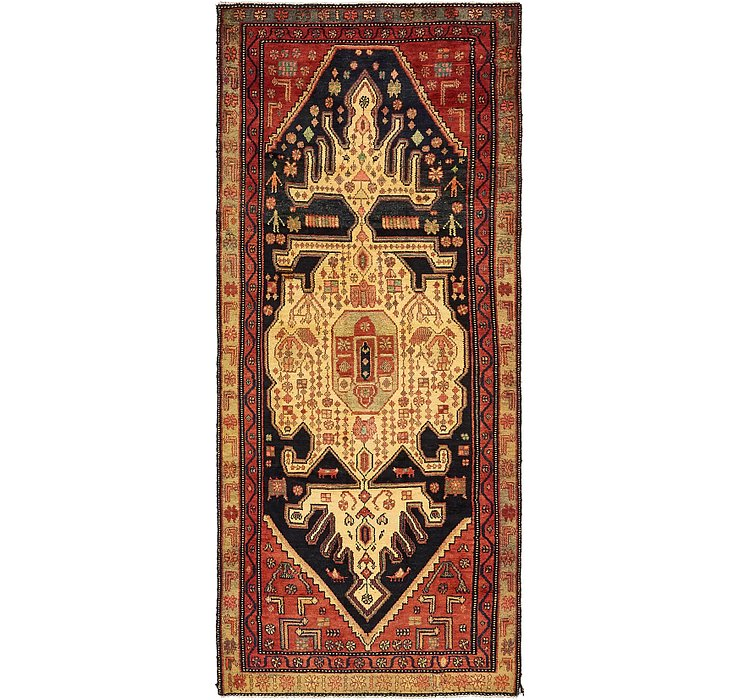3' 9 x 9' Koliaei Persian Runner ...