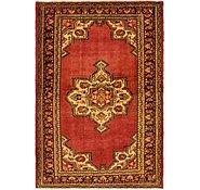 Link to 4' 7 x 6' 11 Khamseh Persian Rug