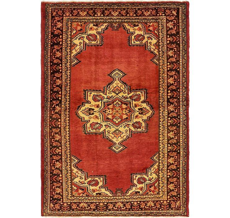4' 7 x 6' 11 Khamseh Persian Rug