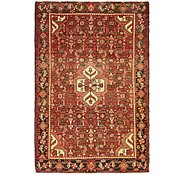 Link to 4' 4 x 6' 7 Hossainabad Persian Rug