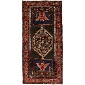 4' 9 x 9' 11 Sirjan Persian Runner Rug