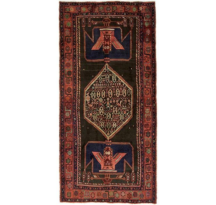 HandKnotted 4' 9 x 9' 11 Sirjan Persian Runner Rug